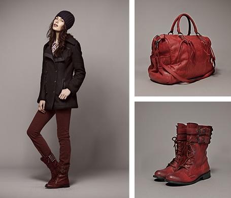Mode femme : Tendance rouge
