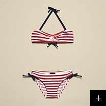 bikini rouge fille