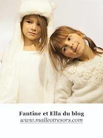 Faustine et Ella du blog Malle aux trésors
