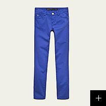 Pantalon bleu fille