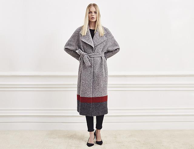 Manteau long femme IKKS